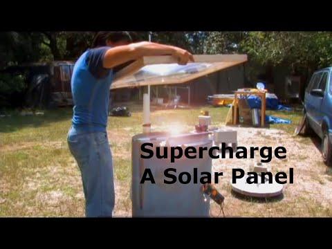 Solar Panel supercharger Fresnel Lens