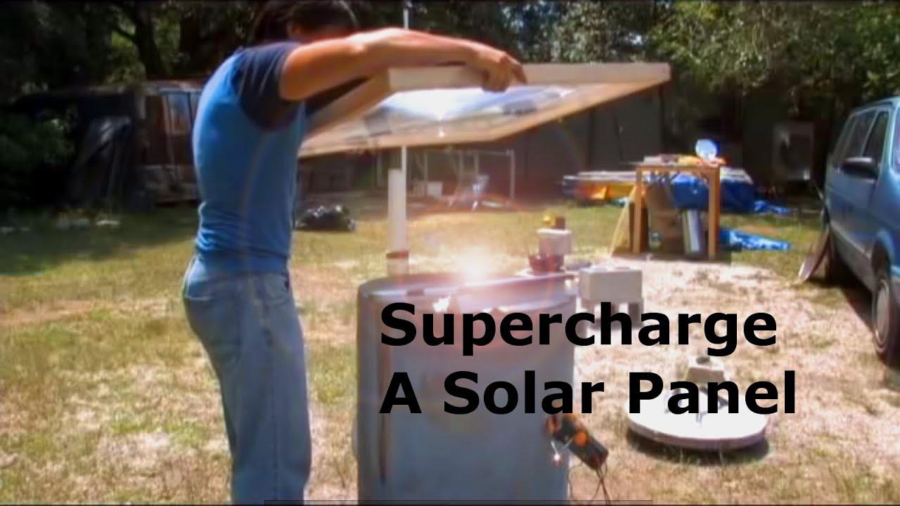 Solar Panel Supercharger Fresnel Lens Youtube