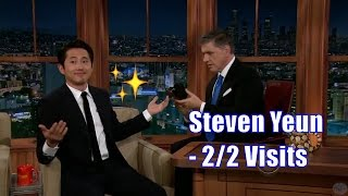 Steven Yeun - Craig Smells His Shoe - 2/2 Visits In Chronological Order [1080]