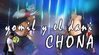 Yomil y el Dani - Chona // Trapton Zumba Choreo by Jose Sanchez
