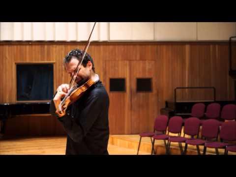 Ilya Gringolts suona il Capriccio n.24 di Niccolò Paganini
