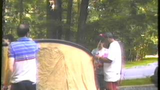 Camping in Catoctin Mt Park, Maryland
