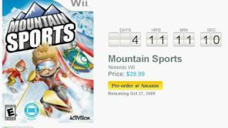 Mountain Sports Wii Countdown
