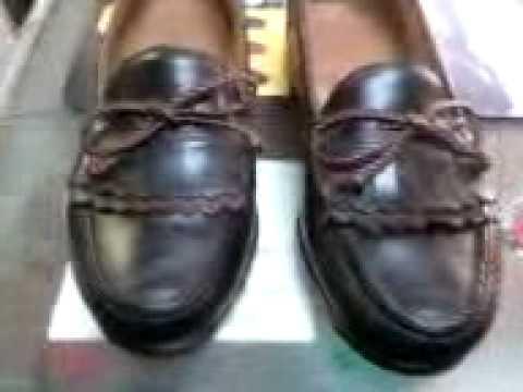 Walhalla Shoe Shop repairs Allen Edmond dress shoes!