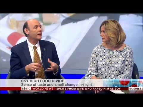 Airline Catering under discussion on BBC World