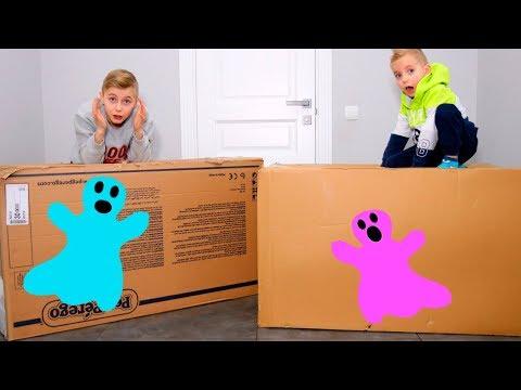 видео: funny baby открывают ЗАГАДОЧНЫЕ посылки!!!От кого и что внутри???mysterious huge parcels !!!