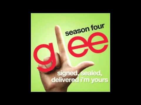 Glee Signed, Sealed, Delivered I'm Yours Karaoke