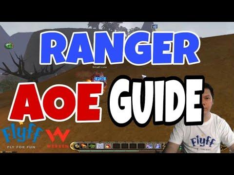 Flyff US - AOE GUIDE FOR (RANGER / CRACKSHOOTER)