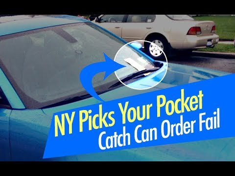 NY Tickets // Tinted Windows & No Front Plate // Oil Catch Can