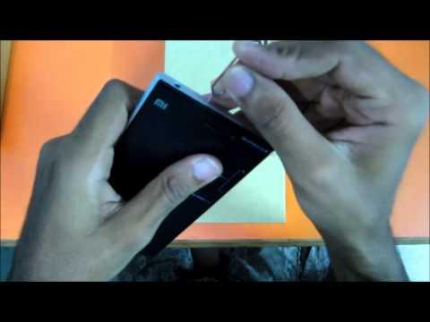 How to insert Sim card in Xiaomi Mi3.