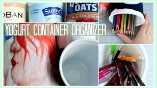 Download Video DIY // Yogurt Container Organizer MP3 3GP MP4