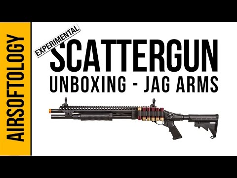 JAG Arms Prototype Gas Scattergun Shotgun Unboxing | Airsoftology
