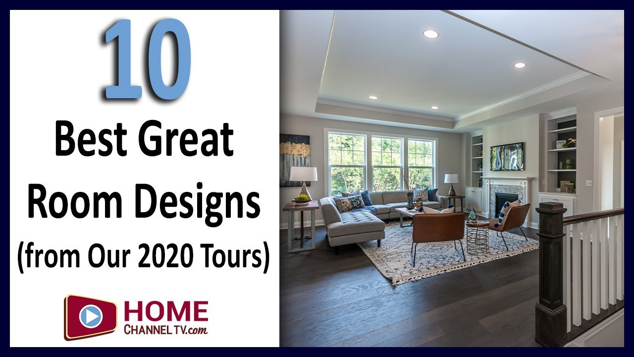 Top 10 Great Room Designs from Our 2020 Open House Tours