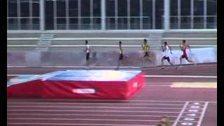 Final A 400 m.l. Pista cubierta Salamanca