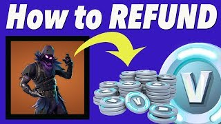 How To Refund V-Bucks On FORTNITE!