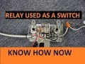 How a Relay Works in a Circuit