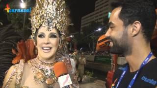 Carnaval 2015 || Claudia Raia - Madrinha da Beija-Flor