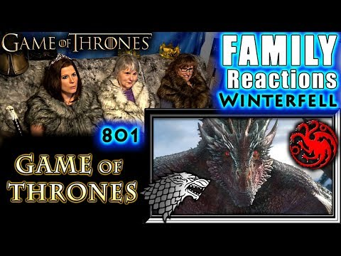 Game of Thrones | 801 | Winterfell | FAMILY Reactions
