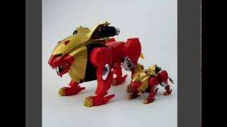 GaoRanger Papercraft Series: #1-Gao Lion + Big Gao Lion