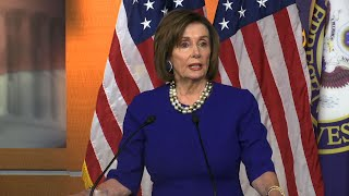 Pelosi on Trump's speech, prayer breakfast conduct
