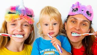 Brush your teeth song | Children songs by Sunny Kids Songs