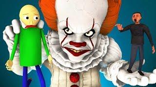 Балди vs Пеннивайз 3: Клоун Победил (Оно 2   Baldi