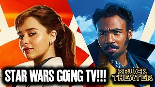STAR WARS going to TV because theatrically it's dead