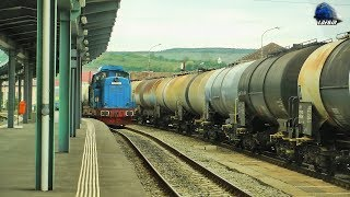 Trenuri & Activitate Feroviara/Trains & Rail Acitivty in Gara Zalau Nord Station - 12 May 2017