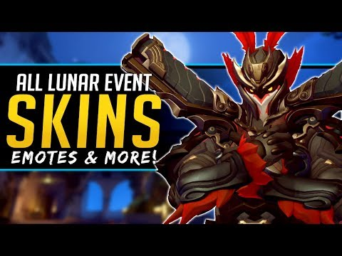 Overwatch All NEW Legendary Skins Lunar New Year Event - Emotes & more! thumbnail