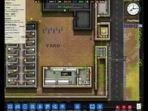 Играем в Prison Architect часть2