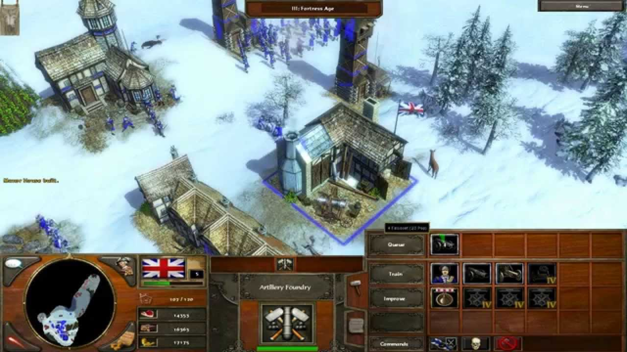 Age of Empires III PC Gameplay HD