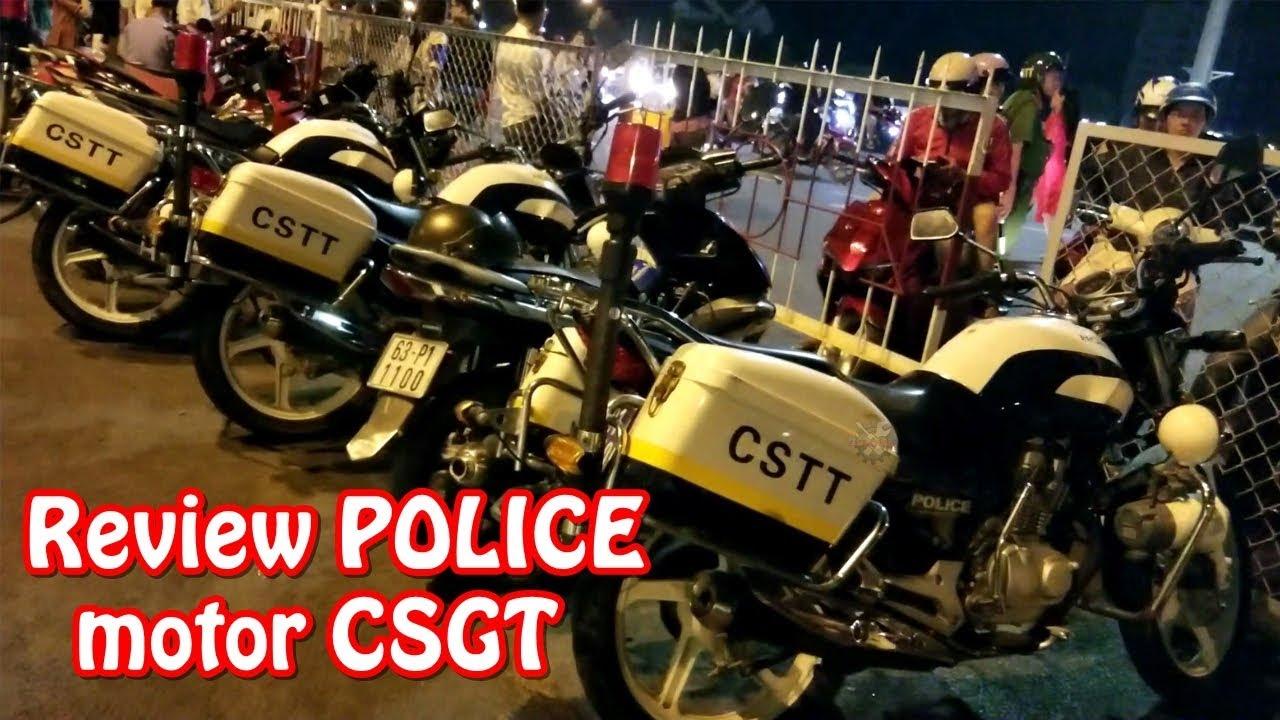 Review xe CSGT | Moto Police | Xe độ đẹp kết thúc năm 2018