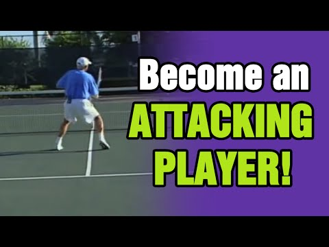Tennis - How To Become An Attacking Player | Tom Avery Tennis 239.592.5920