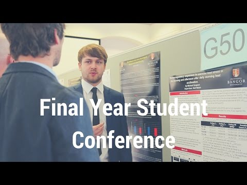 Final year Student Conference - Sport, Health and Exercise Science