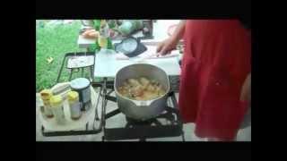 """Chicken In A Silk Gravy""""...cajun Style"""