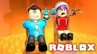 ESCAPE THE LAVA ROOM PUZZLE IN ROBLOX w/ RadioJH Games! | MicroGuardian