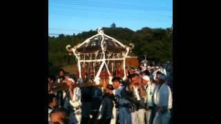 香取市(旧山田町)府馬 愛宕神社祭礼 2011