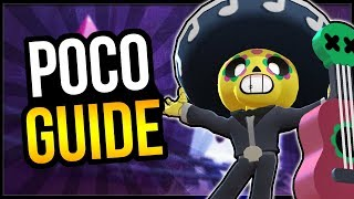 How To Play Poco! Strategy Guide & Tips From #2 Poco [Brawl Stars]