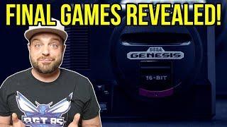 FINAL Sega Genesis Mini Games REVEALED! | RGT 85