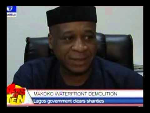 Makoko Waterfront Demolition:Lagos government clears shanties