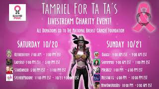 Tamriel For Ta Tas! Charity Livestreaming Event!