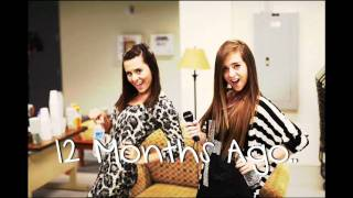 Megan and Liz - 12 Months Ago (Exclusive Studio version)