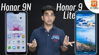 Honor 9N vs Honor 9 Lite: Comparison overview [Hindi हिन्दी]
