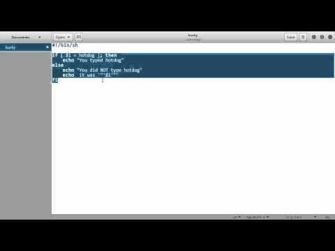 Linux Tutorial for Beginners - 21 - More on Shell Scripting