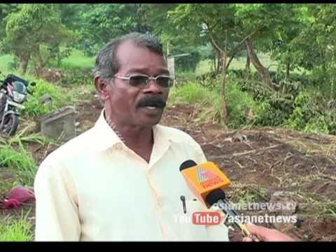 Land enncroachers destroyed trees planted by Nila Samrakshana Samithi