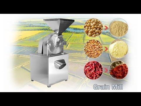 Multi-purpose Grain Mill / Pepper, Beans, Wheat, Corn Grinding Machine