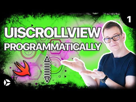 UIScrollView Programmatically in Swift (EASY) - YouTube