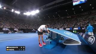 Rafael Nadal's bottle zen ¦ Australian Open 2017