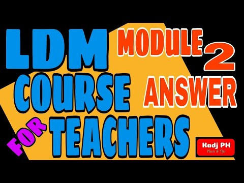LDM2 | Learning Delivery Modalities Course for Teachers Module 2 | DepEd Philippines | Kadj PH2 from YouTube · Duration:  7 minutes 51 seconds