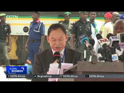 Nigeria  flags off construction of second standard gauge rail line